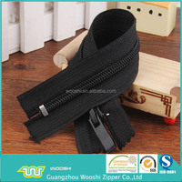 5# high quality nylon/coil/polyester zipper closed end auto lock metal stopper for garment