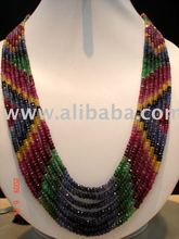 Handmade Contemporary Style color stone Jewelery
