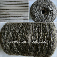 1/2.5nm wool polyester linen slub fancy yarn