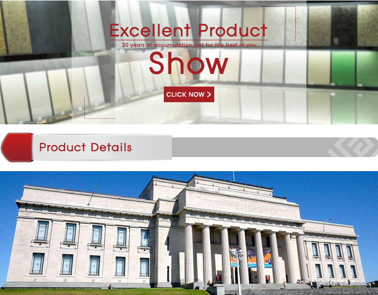 Marble Line Villa Facade Dry Hanging Stone Engineering Marble Hanging