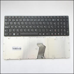 SP Laptop Keyboard For LENOVO Ideapad Z580 V580 G580 Keyboard Latin Spanish Teclado Black