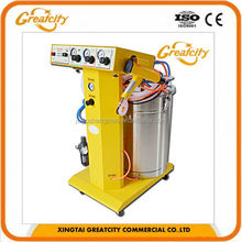 Hot sale professional wooden door spraying machine with electrostatic powder coating