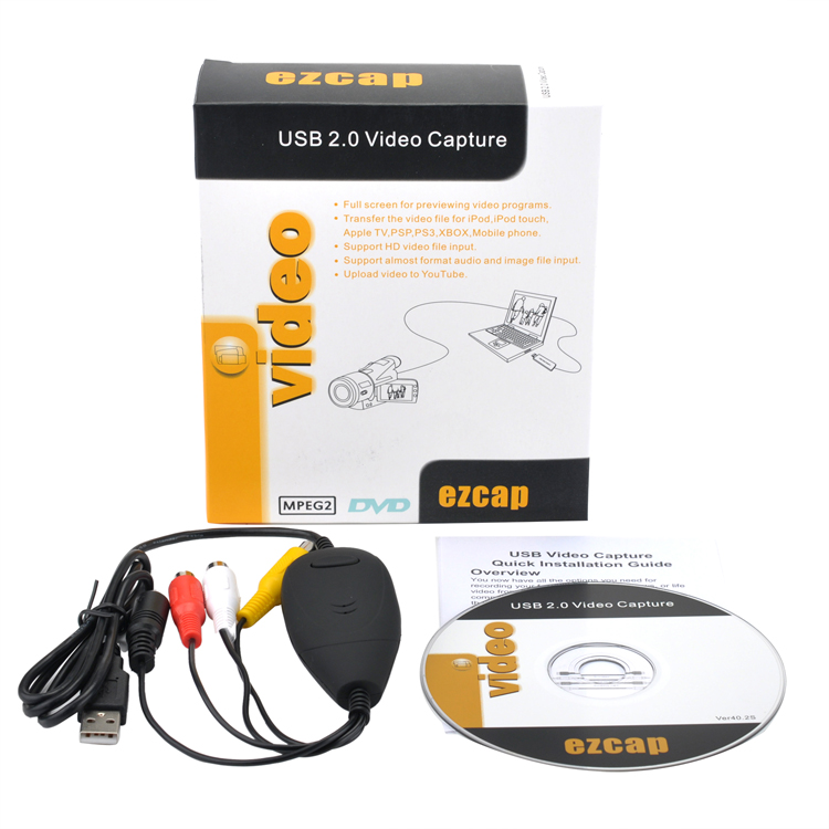 ezcap172 USB Video Granber VHS to DVD Maker USB Video Capture