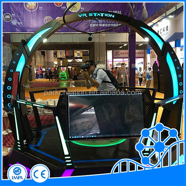 newest vr standing platform vr waliking space vr amusement products factory