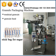 Stick Pack Machine for Free Flowing Products Sugar,Salt