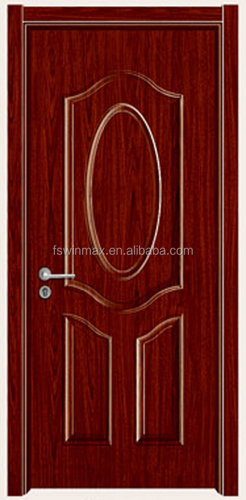 YX-611 Cheap HDF Moulded Melamine Bedroom Wooden Door