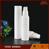 Unique white Cosmetic Packaging 50ml round plastic airless bottle