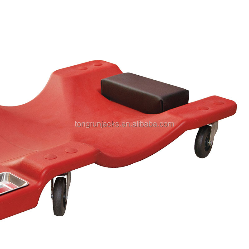 "40""  Plastic Folding Auto Car Creeper with Magnetic Parts Tray TRH6802-3"