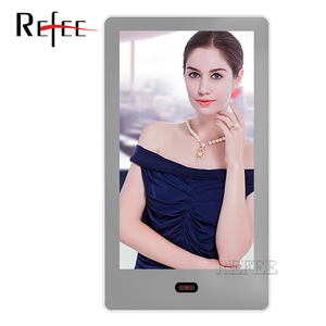 Industrial advertising screen 43inch magic mirror tv design for hotel