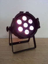 par 7x15w led 5in1 led mini par can stage light for dj club disco used