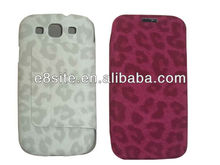 Stand Leopard Leather Case For SamSung i9300 Galaxy S3
