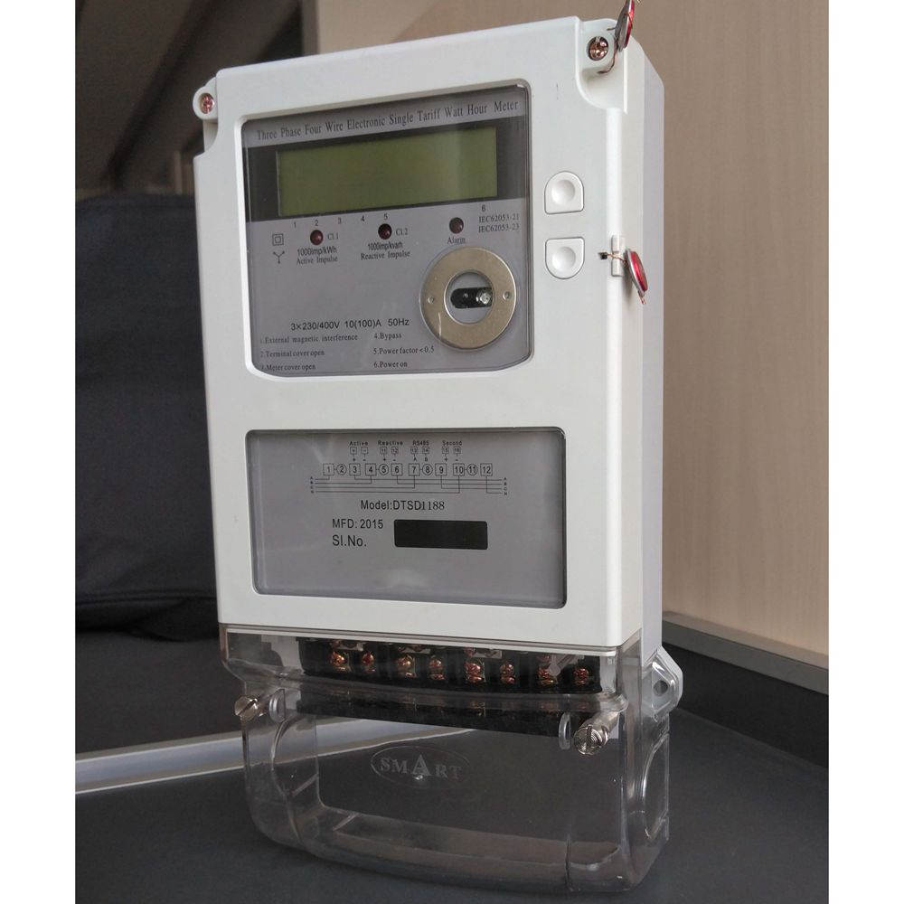 3 phase m-bus electrical energy meter calibrator