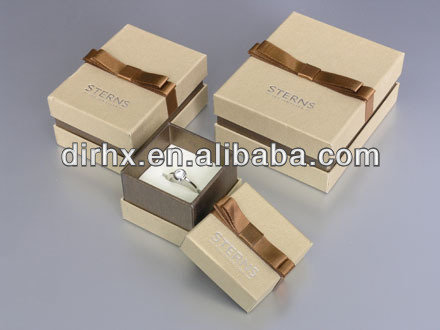 Custom Logo Printed Packing Box Paper Jewelry Gift Boxes Wholesale