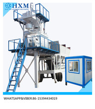 Mobile concrete batching plant moved concrete plant with automatic weighing system