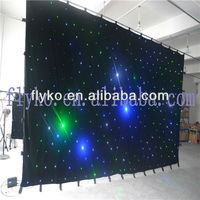 LED Star Curtain Cloth for Stage Performance