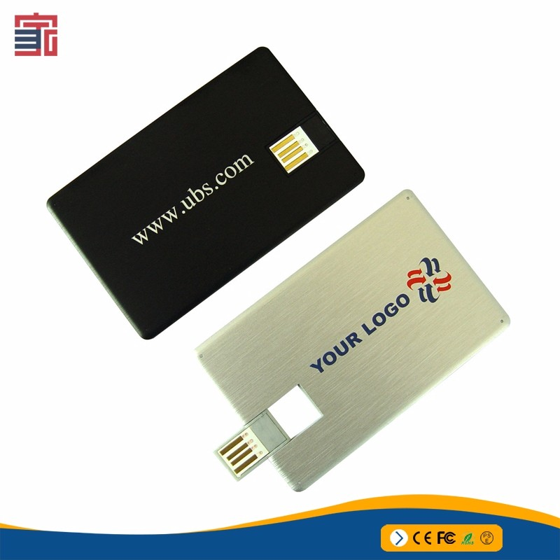 Factory direct sales 1gb 2gb 4gb 8gb 16gb 32gb 64gb metal credit card usb flash drive