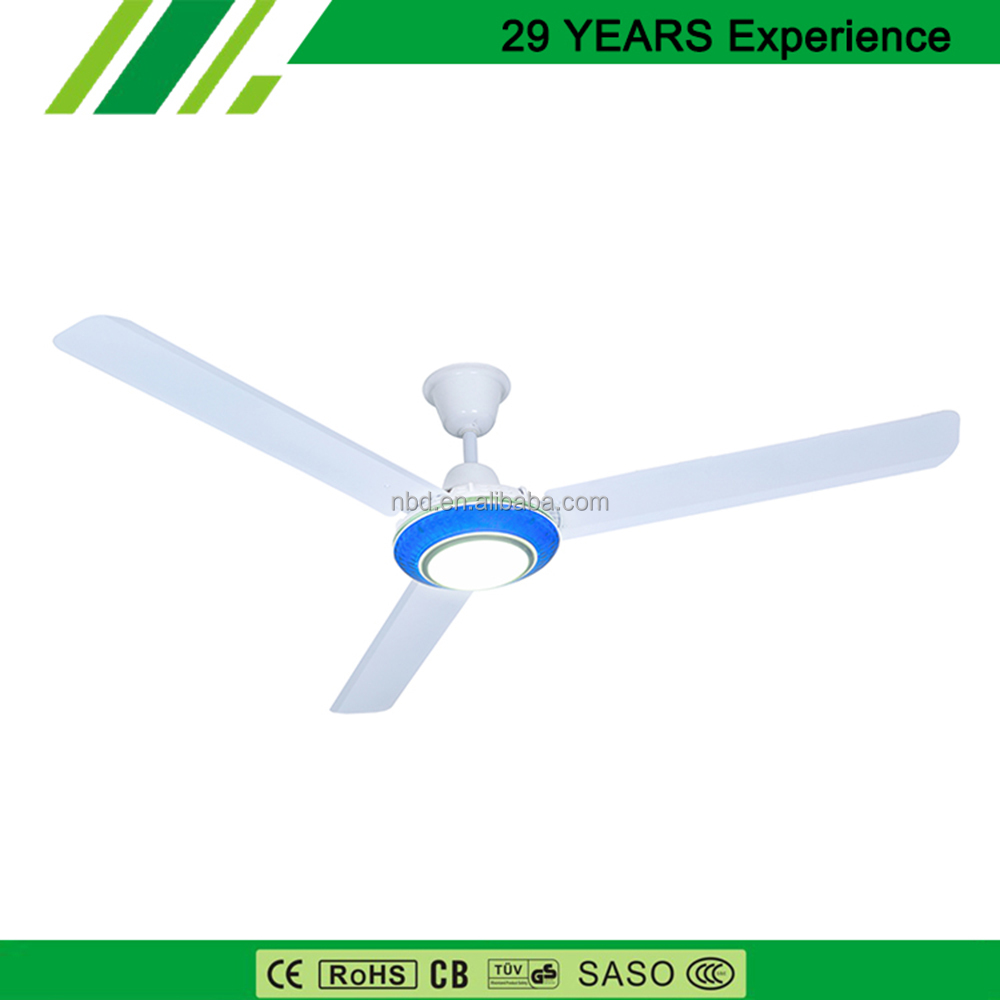 Popular & Modern Design Industrial Ceiling Fan With Light