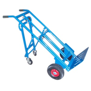 4 Wheels Steel Warehouse Tool Hand Transfer Trolley