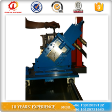 Automatic corrugated glazed steel crimping arch roll forming machine