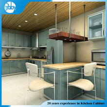 MDF board melamine kitchen cabinet plastic cover