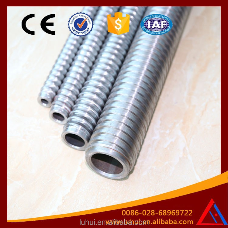 LUHUI T76 tunnel anchorage material galvanized rock bolt