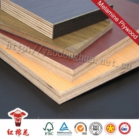 China best products plywood 1/4 inch with melamine face 16mm