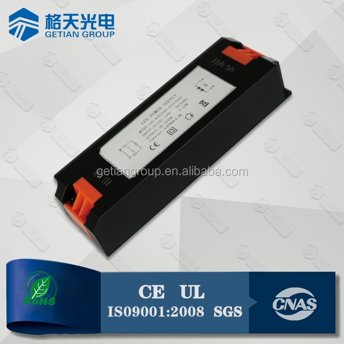 High Quality Non-Flicker LED Driver Silergy IC 40W LED Driver