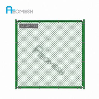Made in Guangzhou Professional Factory Sports venues Playground Chain link fence