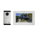 7inch color screen video doorbell with intercom