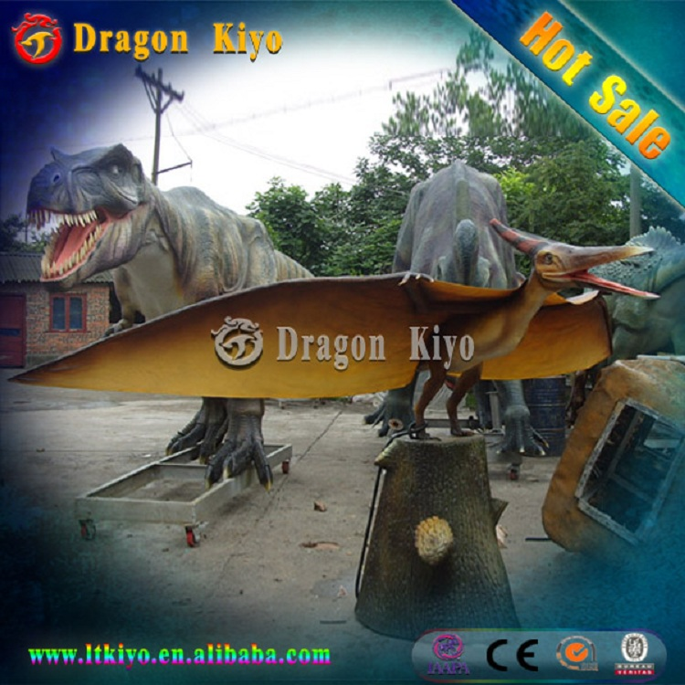 2016 Dragon kiyo Animatronic amusement park ride Walking Dinosaur