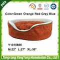 Composite Suede Fabric High Quality Foam Pet Bed Dog Bed