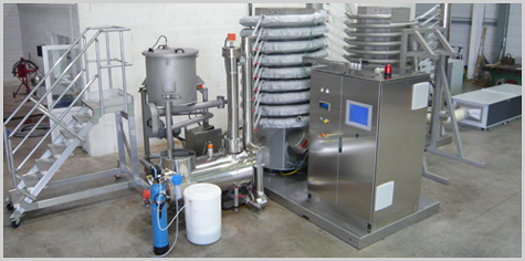 Sterilization / Pasteurization of dried products