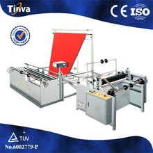 China factory Triangle plastic film folding machinery