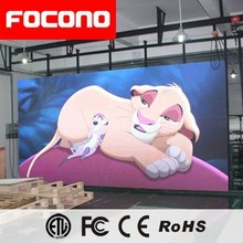 2018 HD Indoor P3 Full Color 500x1000mm Die-casting Al LED Cabinet Display for Stage Rental Use