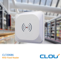CL7206B6 RS232 oem uhf fixed mid-range wireless rfid reader for product line