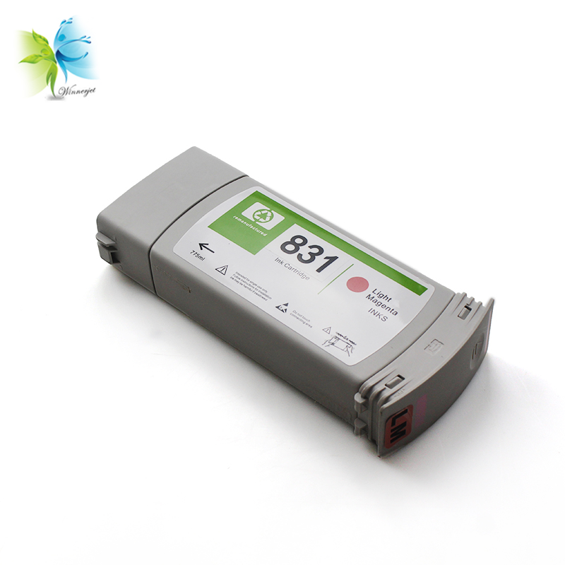 Remanufactured latex ink cartridge 831 for HP Latex 310 330 360 315 335 365 370 560 570 latex printers