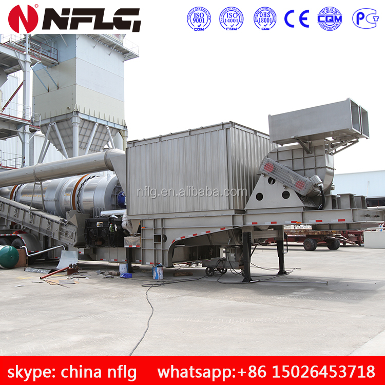 Supply mobile asphalt mixing machine and related equipments