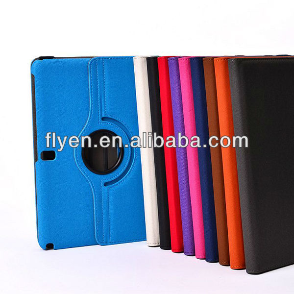 PU Leather Case Cover 360 rotating w/ Stand For Samsung Galaxy Note 10.1 2014 Edition Tablet