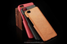 Split cow leahter case for lenovo k4 note, geniune leather back cover for lenovo k4 note