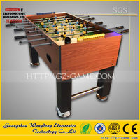 Hot selling used foosball table, Electric coin Football fortune parking ticket dispenser machine
