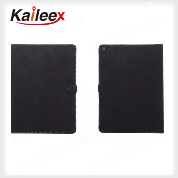 In Stock Pu Case Leather For iPad Pro Leather Wallet Case Cover