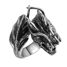 Spikes Fashion Dargone Beautiful Stainless Steel Ring For Men
