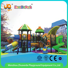 kids curved plastic swing slides padding outdoor playground equipment park