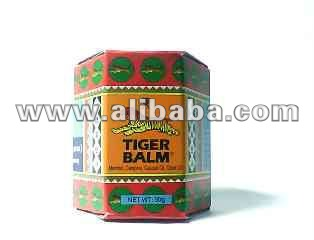 TIGER BALM Red Box Hot formula - Herbal Muscles Ointment Pain Reliving.