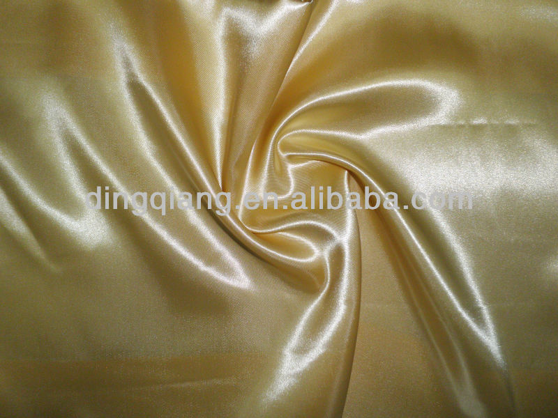 100% polyester satin fabric dyed sateen textiles