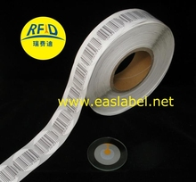 8.2 MHz EAS lembut label diameter 40 mm