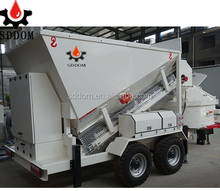 Small mobile concrete batching plant price