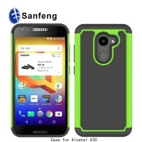 Heavy Duty Strong Silicone Hard Case Cover For Alcatel A30