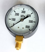 Good price best accurate bourdon tube red mark pointer manometer