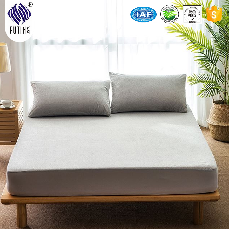 New arrival factory directly sales cotton hotel tpu waterproof mattress bed protector - Jozy Mattress | Jozy.net